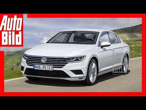 Zukunftsaussicht: VW Passat (2018) - Facelift für den B8 / Erste Details - YouTube