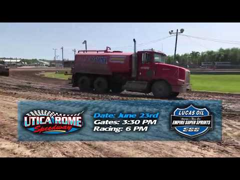 Dustin Purdy Racing | Utica Rome Speedway Empire Super Sprints - June 23rd, 2019