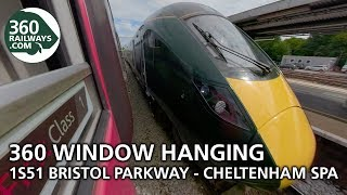 1S51 Bristol to Cheltenham Spa HST in 360º (View in 4K)