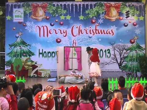 Lớp A1 trường Mầm non Mai Dịch, Vở kịch cô bé quàng khăn đỏ