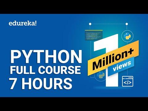 Python Tutorial For Beginners | Python Full Course From Scratch | Python Programming | Edureka thumbnail