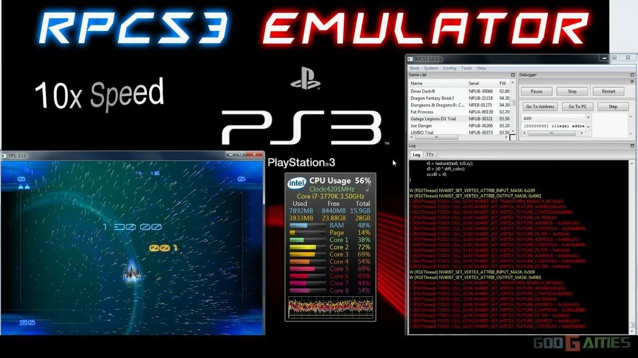 giochi per emulatore ps3