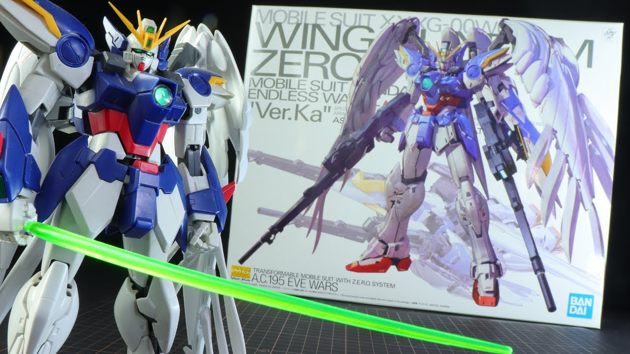 Looks Like It S Sent From Heaven Mg Wing Gundam Zero Ew Ver Ka Unboxing Youtube