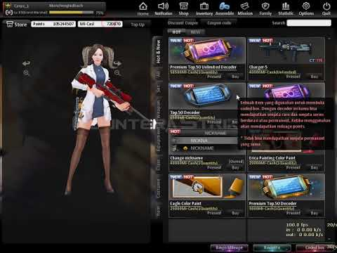 CSO Indonesia [NEW MELEE WEAPON] Opening 10 Premium Unlimited Decoder + 60 Premium Decoder