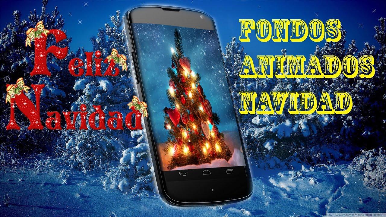 Fondos Pantalla Animados De Navidad: Mejores Fondos Animados De Navidad Android Español