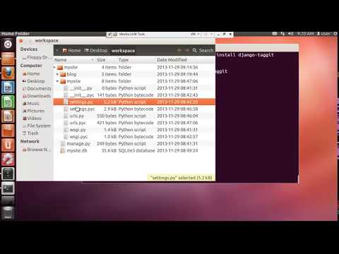 Creation d'un Blog avec Python django -Tutorials sur Ubuntu