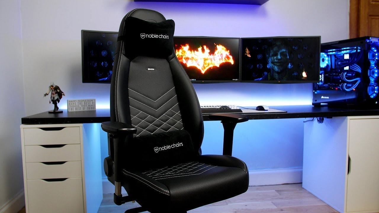 Noblechairs Icon Series Review Youtube