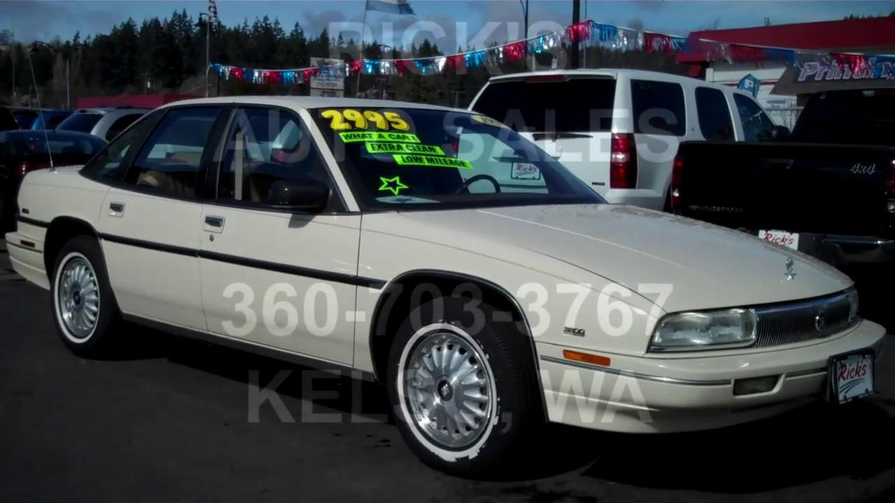 Ricks Auto Sales >> 1991 BUICK REGAL CUSTOM SEDAN SOLD!! - YouTube