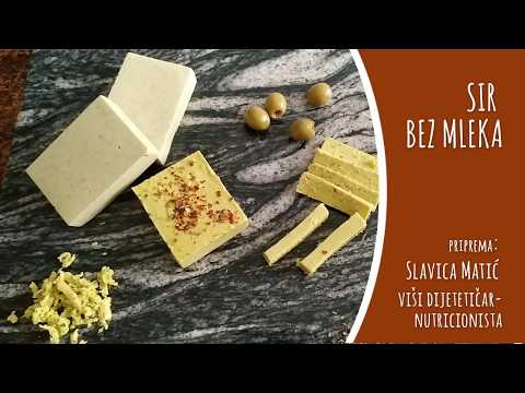 Sir bez mleka - video recept