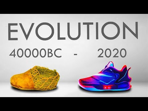 Evolution of Shoes | 40,000BC - 2020