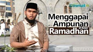 Serial Ceramah Pendek Madinah:Menggapai Ampunan di Bulan Ramadhan - Ustadz Harsya Bachtiar, Lc