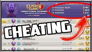 TOP Global Players CHEATING in Clash of Clans!