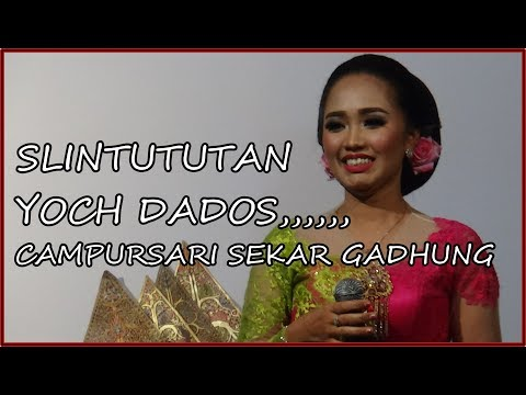 SLINTUTAN,,,,,Campursari Sekar Gadhung YOCH DADOS.....PELEM PARE 03 - 08 - 2018