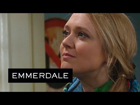 Emmerdale - Rebecca Puts Ross in His Place
