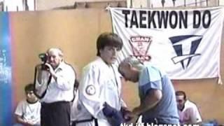 Taekwon-Do ITF / Costas Vs. Castillo