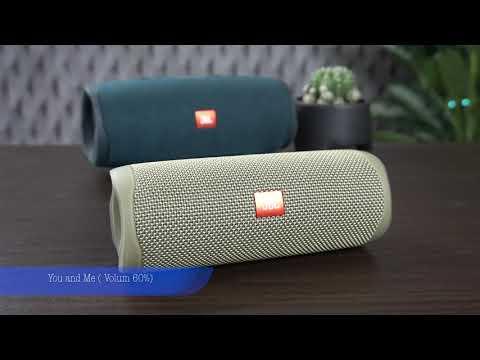 SoundTest: JBL Flip 5 Vs JBL Charge 4