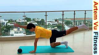 Full body workout 5 exercises for toned Body everyday Wrokout artemfitness