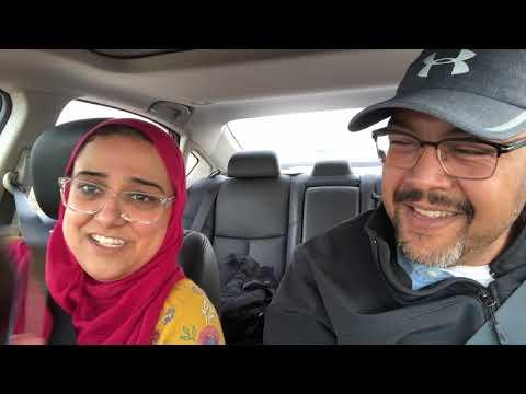American of Egyptian descent sings Arabic karaoke.
