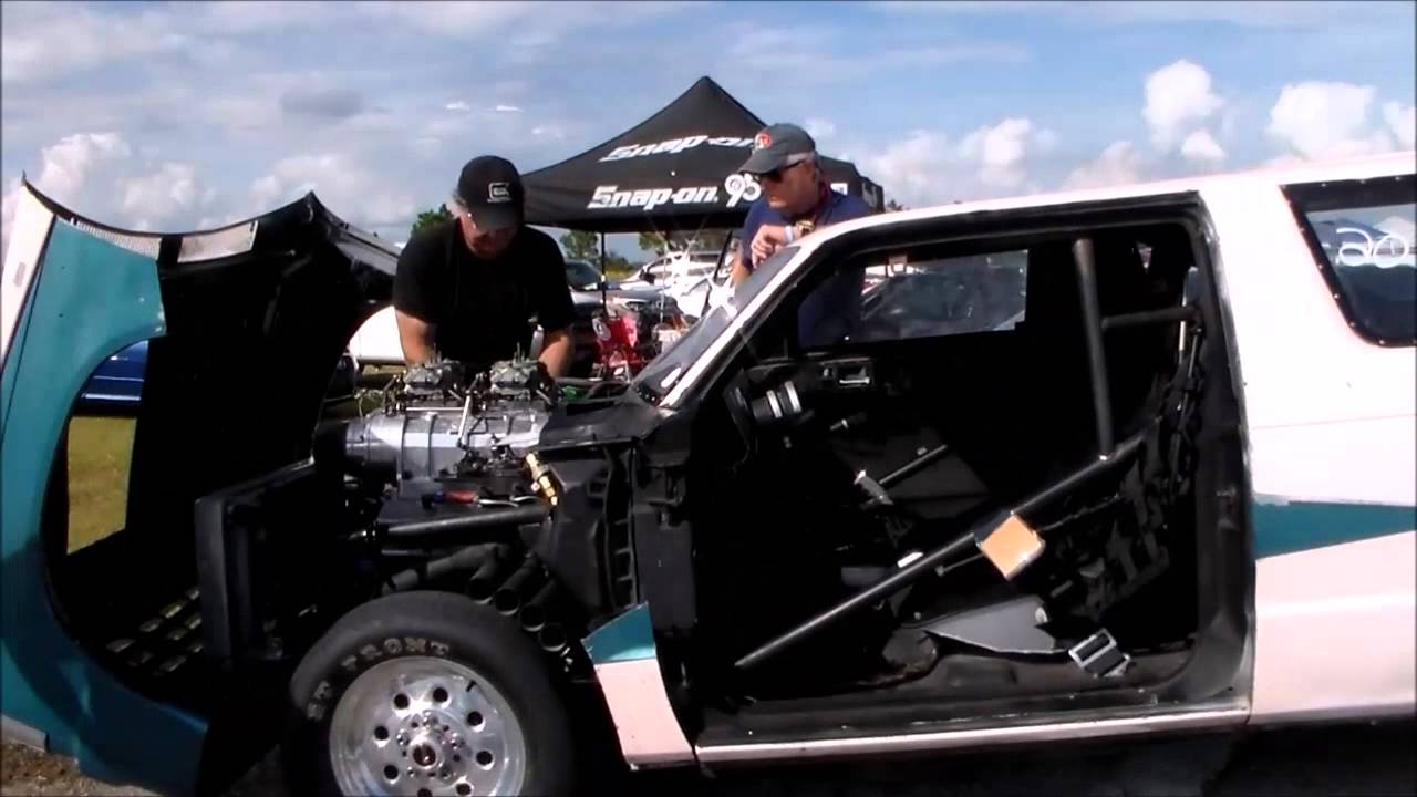 Blown Chopped S10 Blazer At The Track Youtube