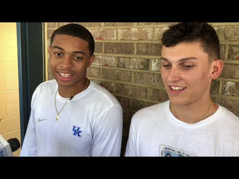 Kentucky Basketball Visits Picadome Elementary School