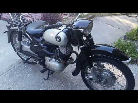 Japanese Import Very Rare 1957 Honda Benly