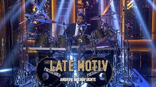 LATE MOTIV - David Broncano. El pachacho drummer | #LateMotiv176 thumbnail