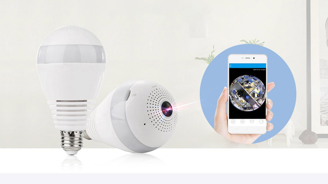 V380 Bulb Light Camera Wireless IP Camera How to Setup Network