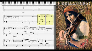 Fiddlesticks! by Al Coney (1912, Ragtime piano)