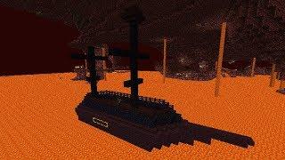 Minecraft Vua Khủng Long #30 : Khám Phá Con Tàu Dưới Địa Ngục !