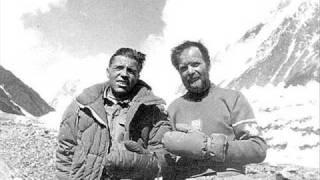 Compagnoni & Lacedelli tribute - K2 first ascent