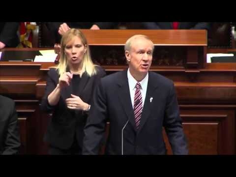 Gov  Bruce Rauner, State of the State Address 2015