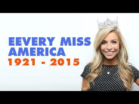 EVERY MISS AMERICA since 1921 to 2015