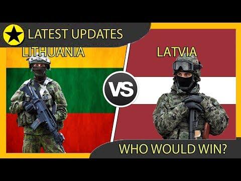 Lithuania vs Latvia Military Power Comparison 2020