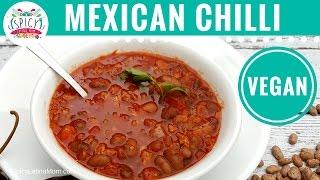 Mexican Chili Beans - VEGAN - | Mexican Food - Spicy Latina Mom