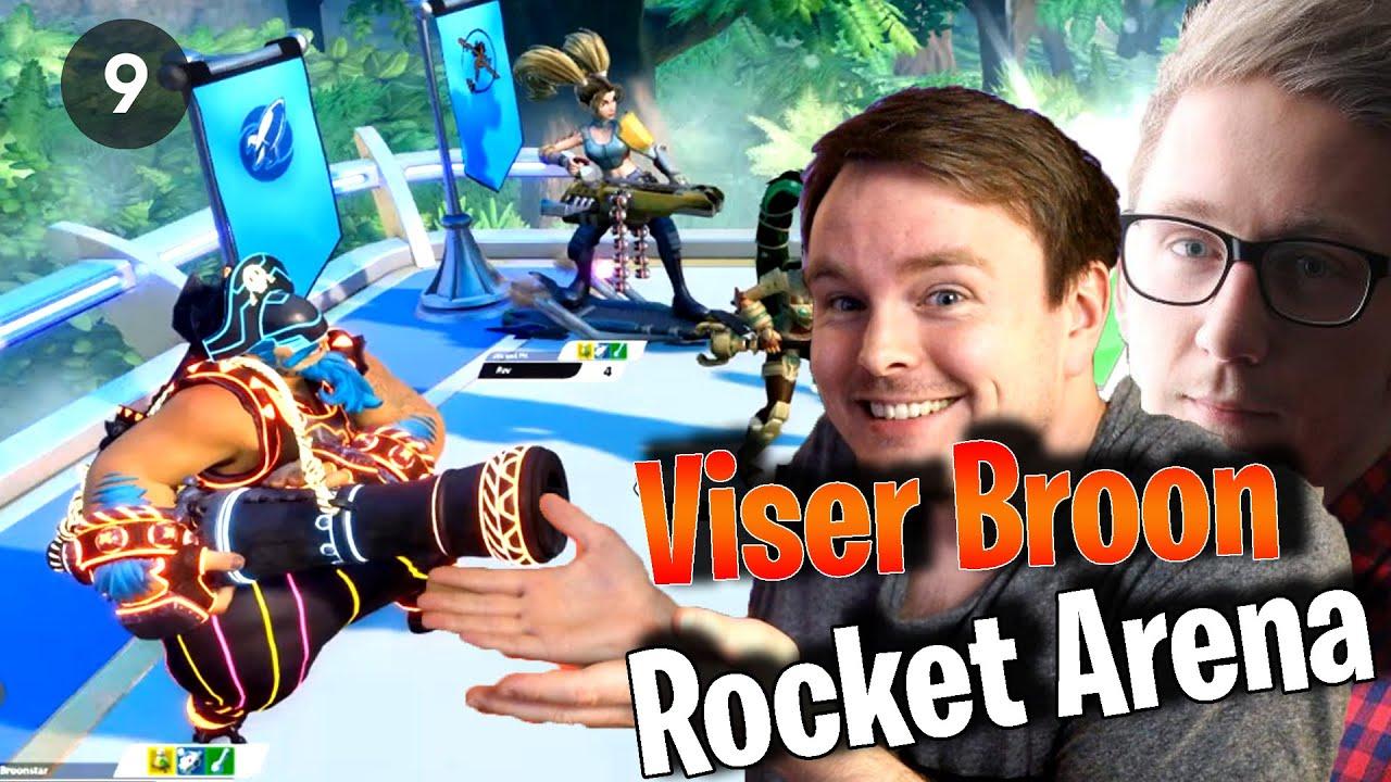 Rob viser Broon Rocket Arena - Tips/tricks og Gameplay