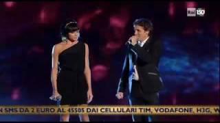 Download Luca Barbarossa E Raquel Del Rosario  - Addio mia bella addio - Sanremo 2011 MP3 song and Music Video