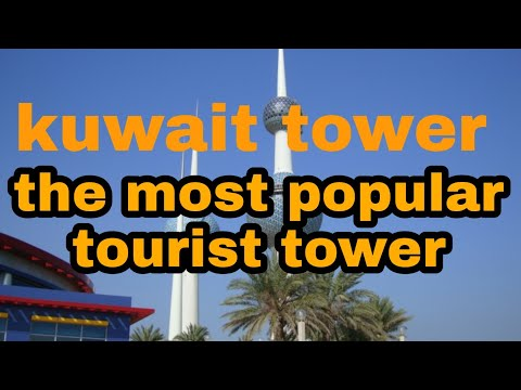 THE MOST POPULAR TOURIST PLACE KUWAIT TOWER | INDRA PRAJA VLOGS