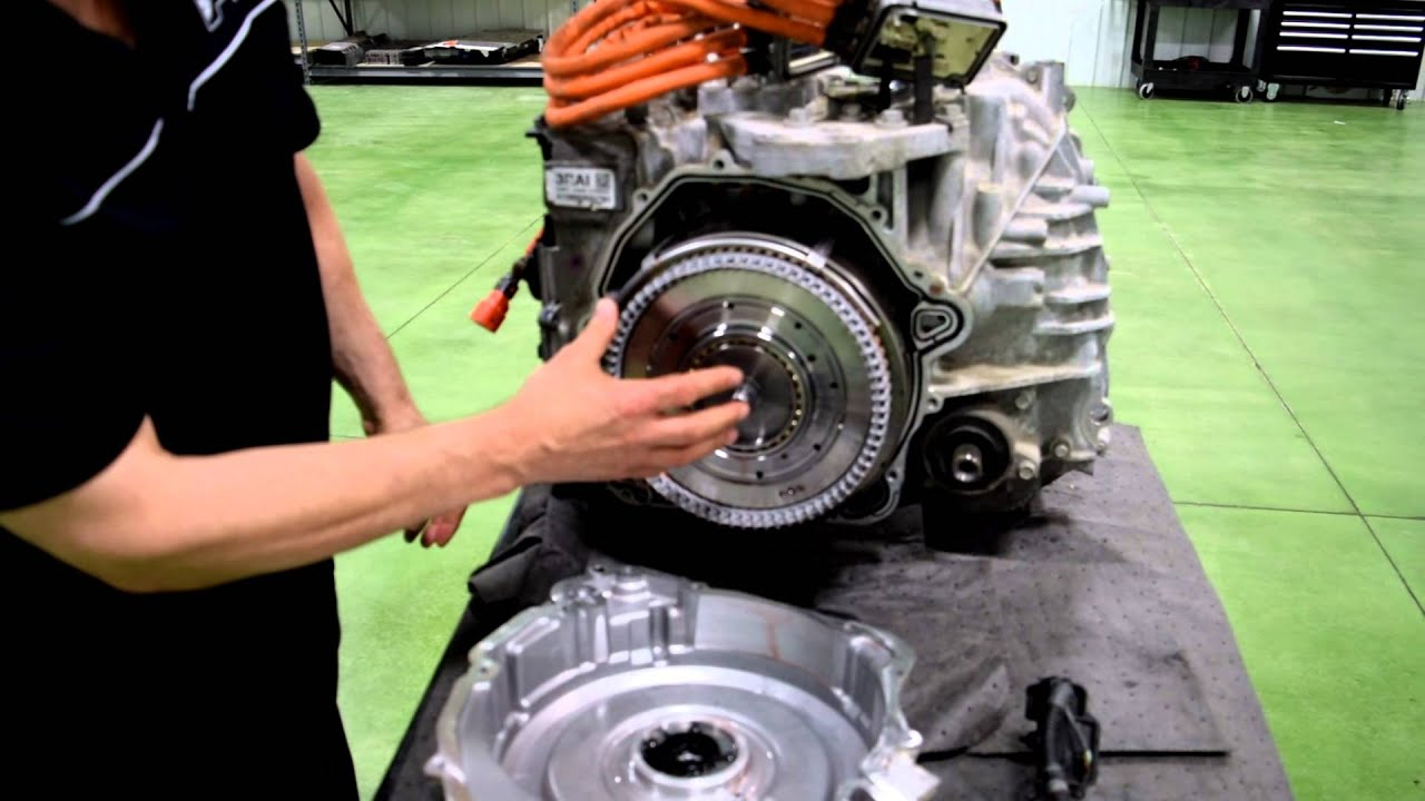 HEV-TV 1 15: Auxiliary Pump in Automatic Transmission by