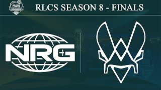 NRG vs Vitality | RLCS Season 8 - Finals (15th December 2019)