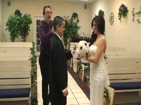 Rojas Wedding Married At Vegas Adventure Chapel On 2 14 12