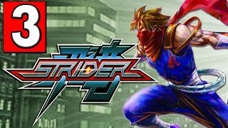 "STRIDER: 2014 Gameplay Walkthrough Part 3 (ROBOT EAGLE) HD XBOX ONE PS4 PC ""STRIDER PS4"""