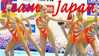 シンクロジャパンオープン2016 リオでメダルを狙う Team Japan