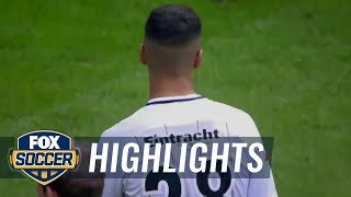 Eintracht Frankfurt vs. Hertha BSC Berlin | 2017-18 Bundesliga Highlights