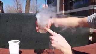 Liquid Nitrogen Vs Water