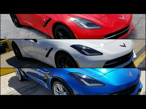 Pictures of the 2019 corvette