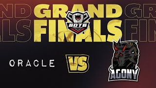 "Oracle VS Agony ""Grands Finals""  Match 22 