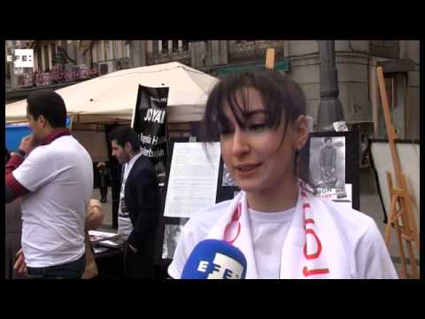 Azerbaijanis remember Khojaly massacre with protests across Spain