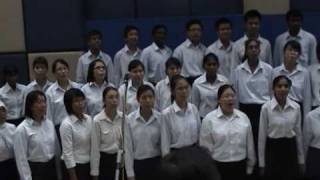 Choir Concert at Universiti Putra Malaysia. Conductor: Song Ching Wah. Pianist: Justin Chew Kah Kin