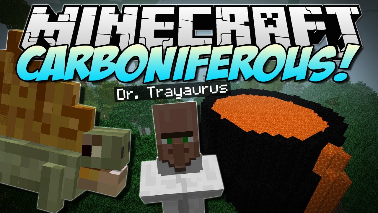 Download Minecraft | CARBONIFEROUS! (NEW Prehistoric Dimension!) | Mod Showcase [1.5.2]