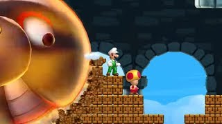 New Super Luigi U - All Castles (2 Player)